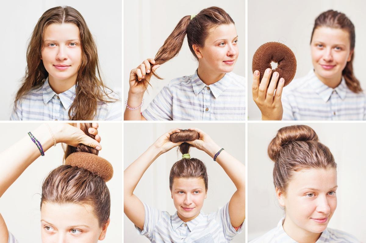 nascondere I capelli sporchi
