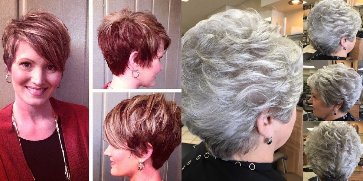 Taglio capelli viso tondo over 50