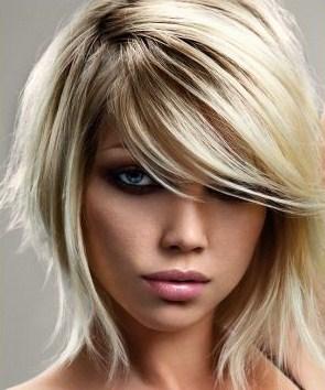 Taglio moderno capelli medio lunghi