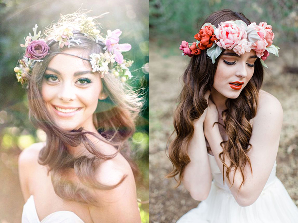 fiori nelle acconciature sposa