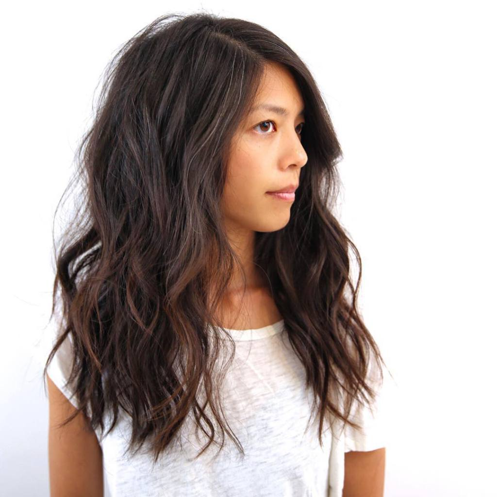 capelli mossi senza piastra