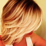 Blonde-Ombre-Short-Hair-Styles
