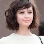 Felicity-Jones-Short-Haircut-Wavy-Bob-Hair-Styles