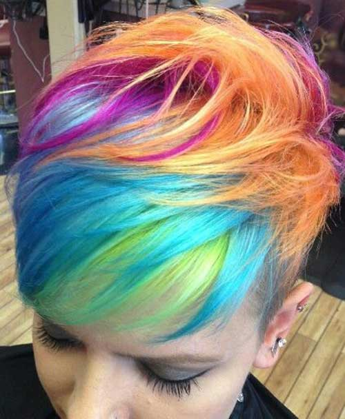 Funky-Hairstyles-for-Short-Hair