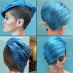 Funky-Short-Blue-Hairstyles