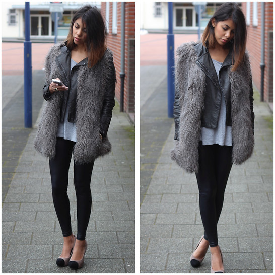 Grey-fur-vest