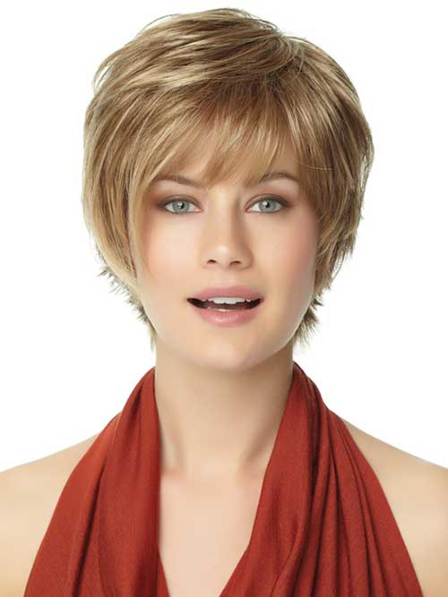 short-haircut-with-bangs-for-round-face-2016 short-haircut-with-bangs-for-round-face-2016