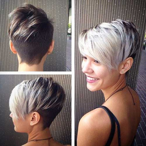 Asymmetrical-Short-Pixie