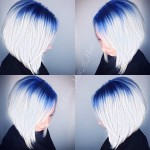 Blue-to-blonde-ombre-Angled-Bob-Hairstyle