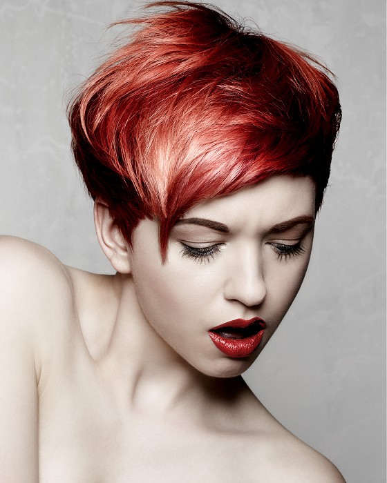Bonce Salons-short-red-straight-hairstyles
