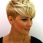 Hairstyle-for-2014-Trendy-Short-Blonde-Pixie-Cut-with-Bangs-for-Women