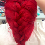 Red-French-Braid-Hairstyle