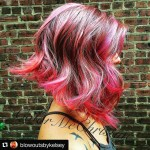 Side-view-of-red-wavy-bob-hairstyle