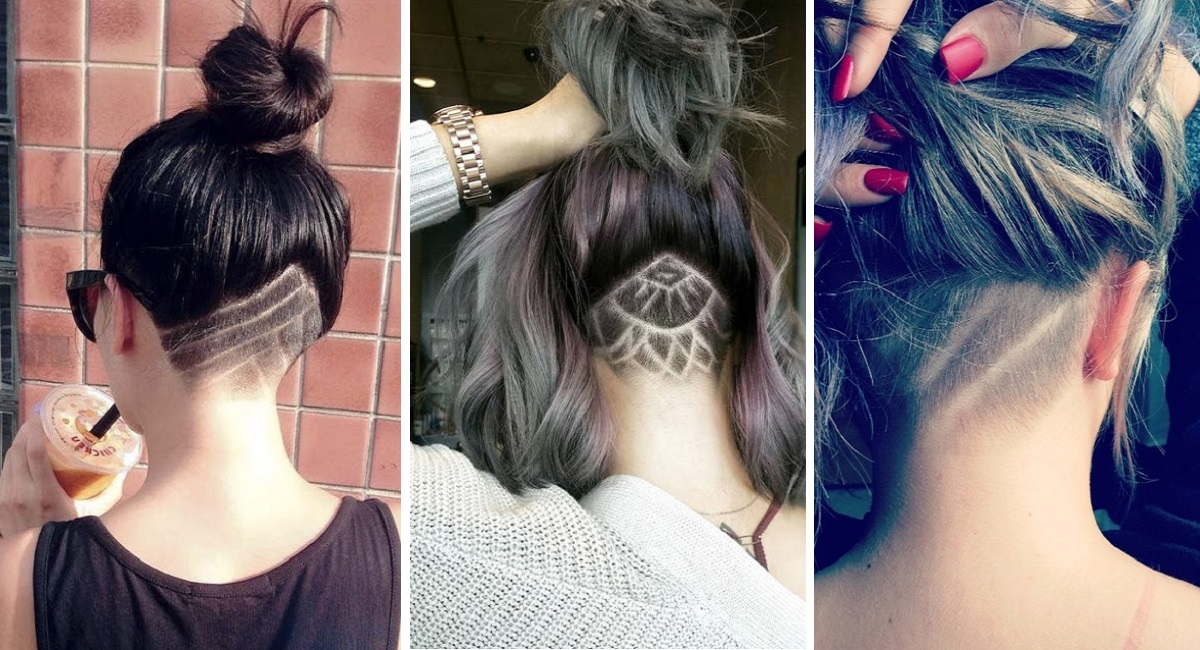 Rasatura capelli donne disegni