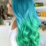 blue-to-green-ombre-hair