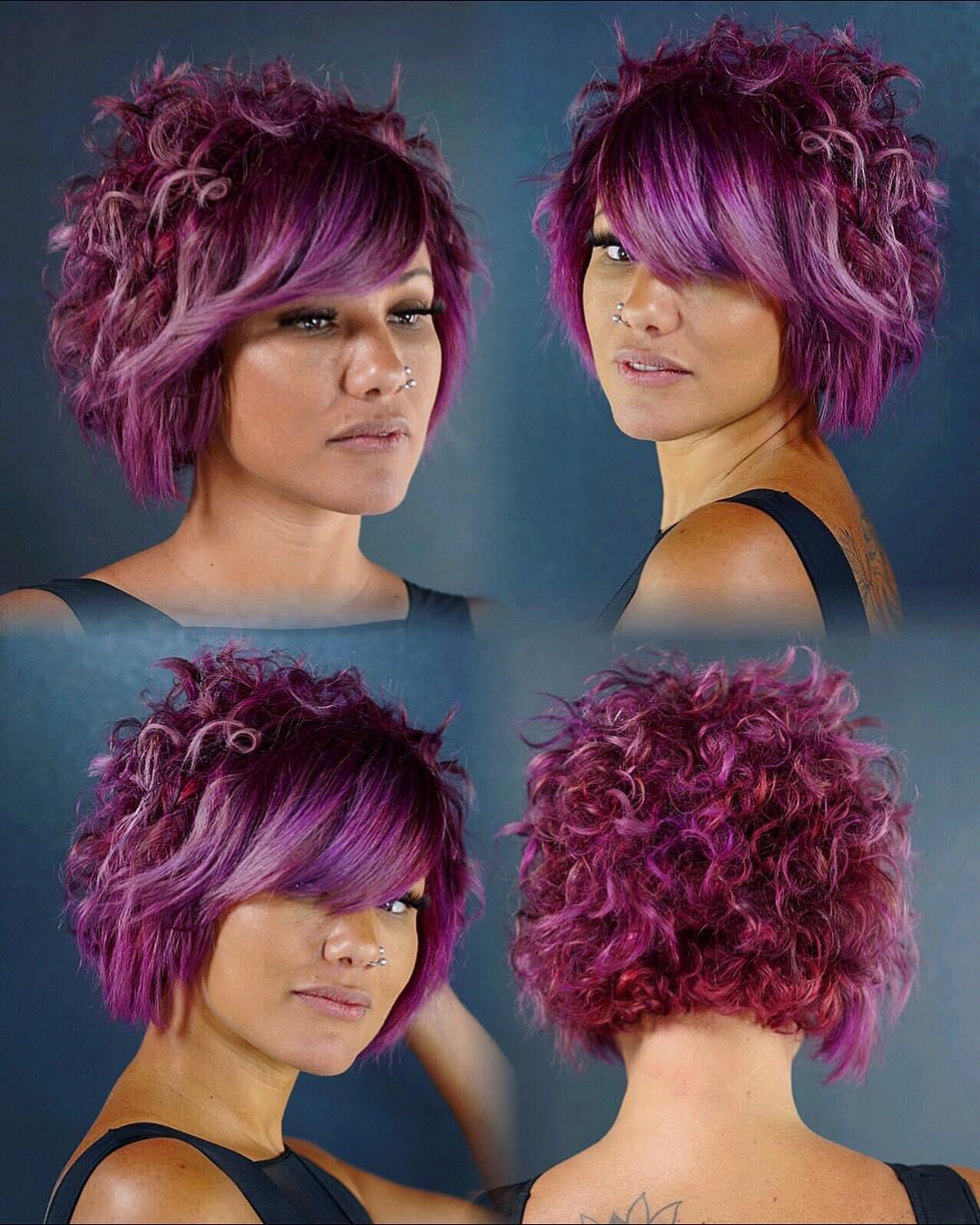 Come Creare Il Viola capelli viola: 40 look che vi faranno impazzire!