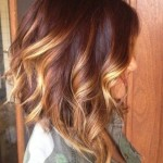 layered-medium-ombre-hairstyle-for-women