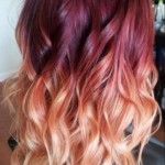 red-to-blonde-ombre-hair-with-waves