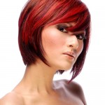 short-red-hairstyles-swept-bangs