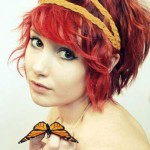 short-red-hairstyles-wavy