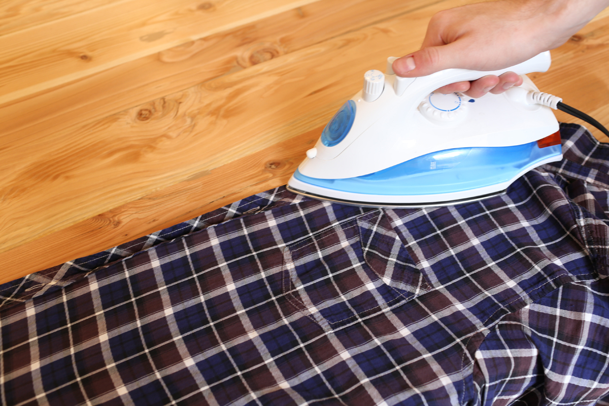 come stirare una camicia step-1