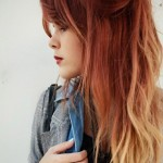 sun-toned-blondish-dye-with-red-ombre