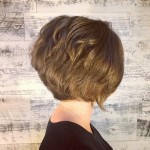 textured-graduated-bob-hairstyle-for-short-hair