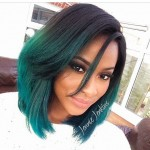 trendy-medium-ombre-bob-haircut-for-thick-hair-for-black-women