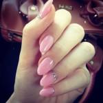 unghie-a-mandorla-estate-2014-nail-art-rosa