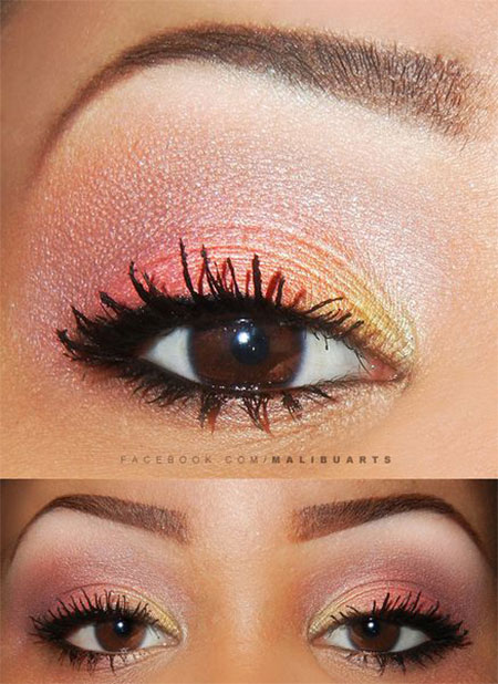 make up occhi estivo
