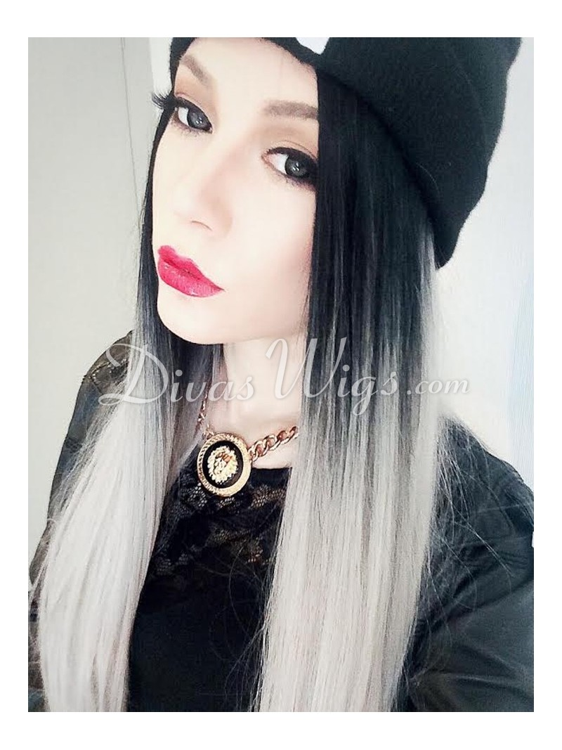 24-grey-ombre-straight-synthetic-lace-wig-sy092