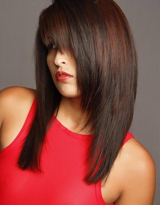 haircut styles for girls with long hair acconciature tagli scalati i 35 migliori esempi 6244 | 35 Best Simple Short Medium Long Layered Hairstyles Haircuts 2012 For Girls 17