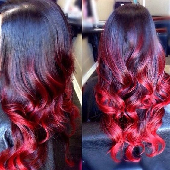ombre rosso