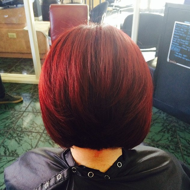 Back-View-of-Red-Bob-Hairstyle
