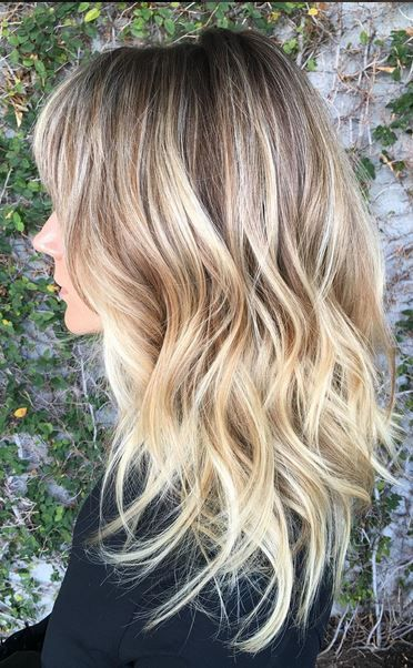 Blond-Sombre-Hairstyle