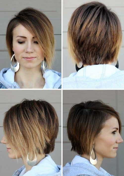 Light-Brown-Ombre-Bob-Haircut