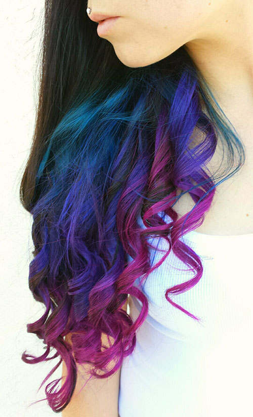 Long-Brown-Curly-Hair-with-Colored-Tips