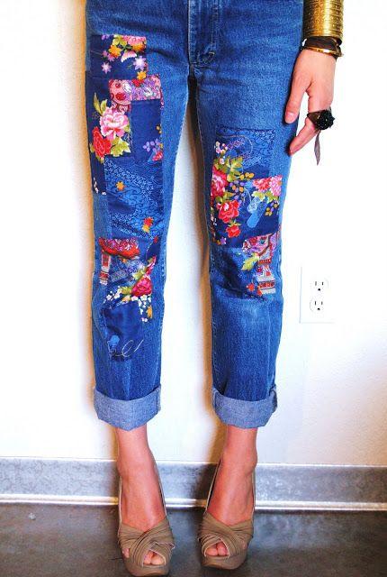 patchwork jeans trend Patchwork-Jeans-6