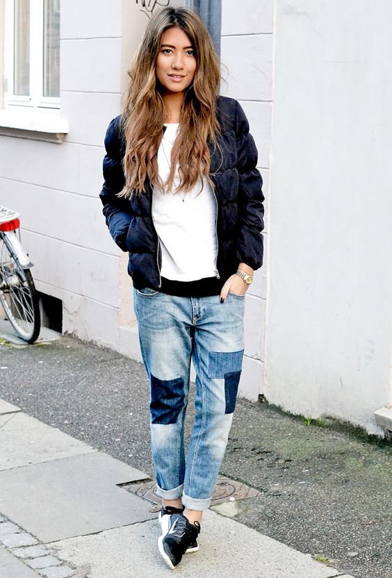patchwork jeans trend Patchwork-Jeans-Outfit-2