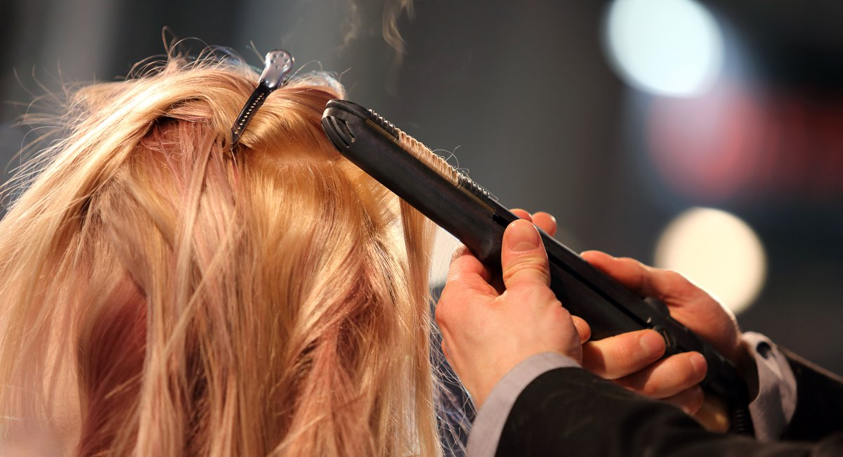 Piastra a vapore per capelli