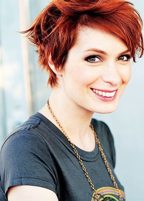 Short-Red-Haircut-for-Summer Short-Red-Haircut-for-Summer
