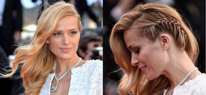spesso Acconciature semiraccolte: la praticità dei capelli semiraccolti  RM54