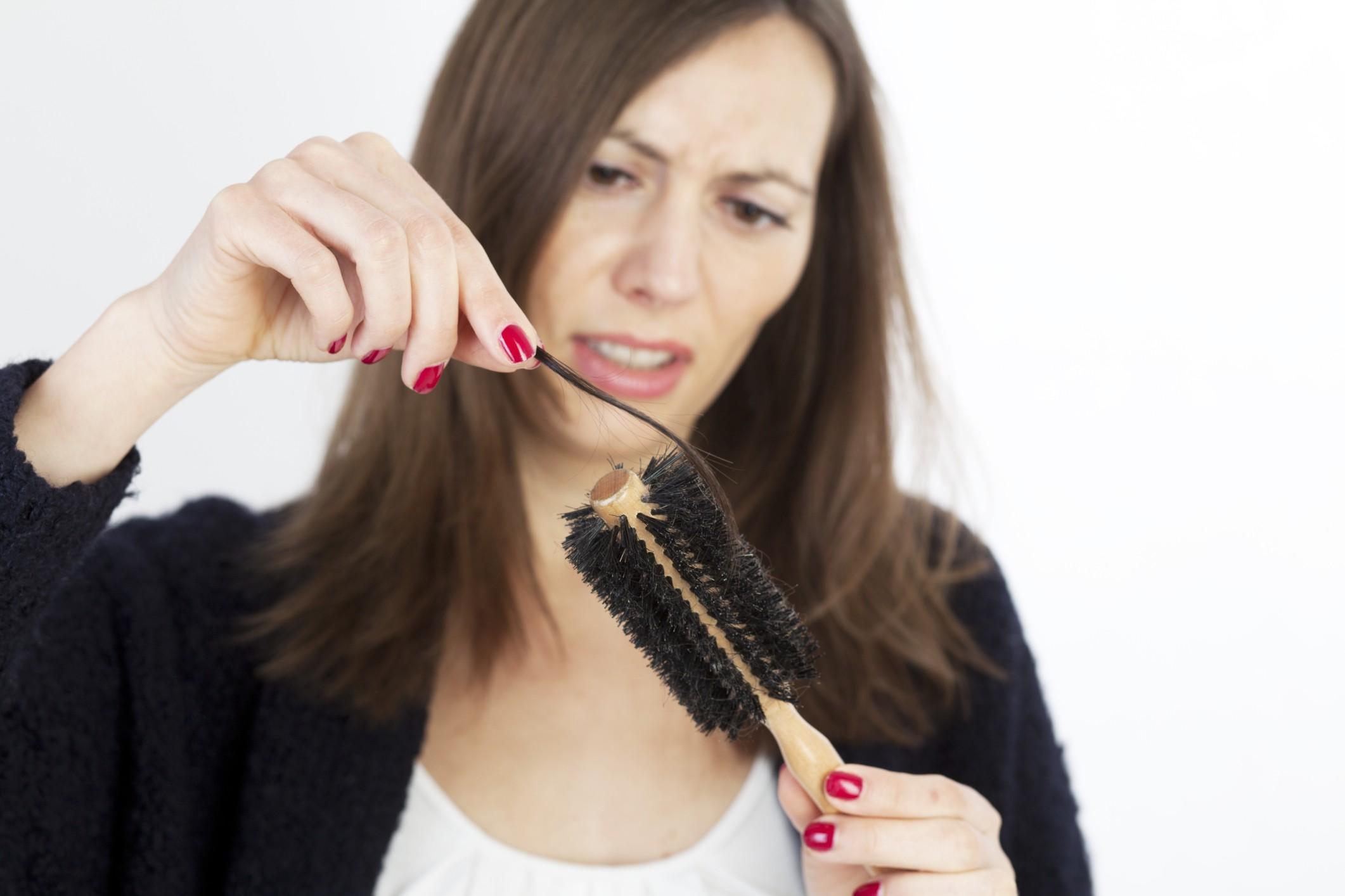 caduta capelli, le spazzole
