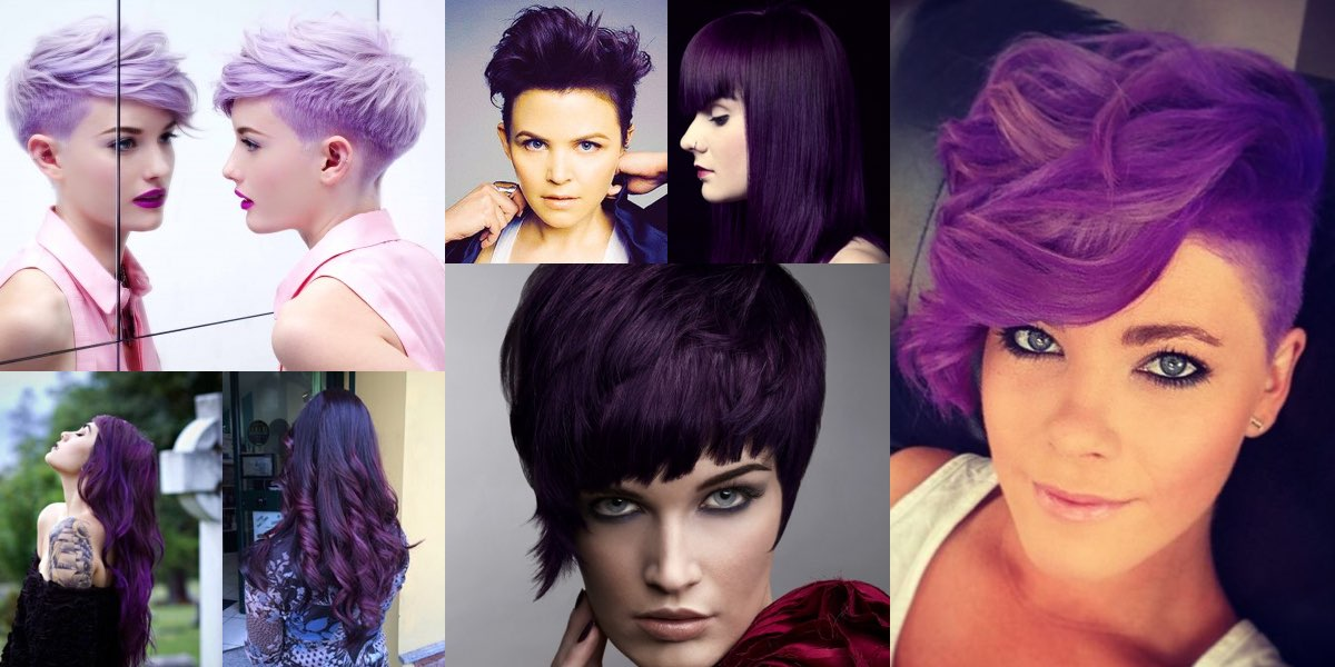 Colore sfumato su capelli corti