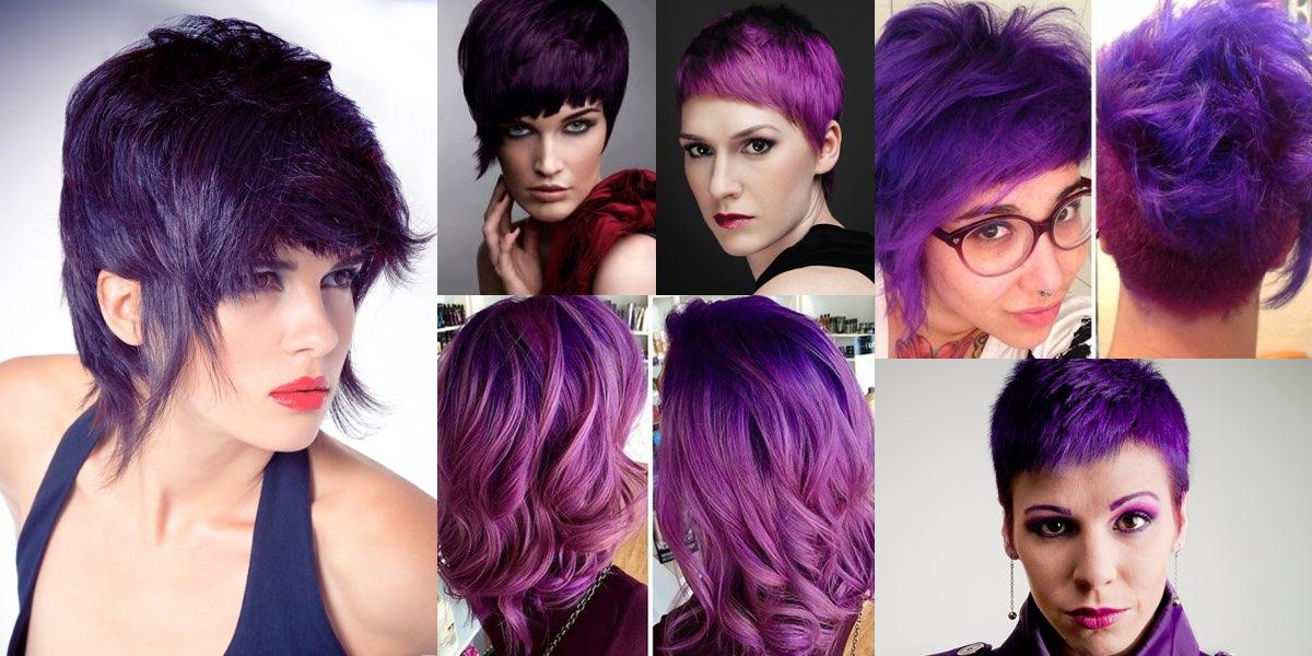 capelli violetti