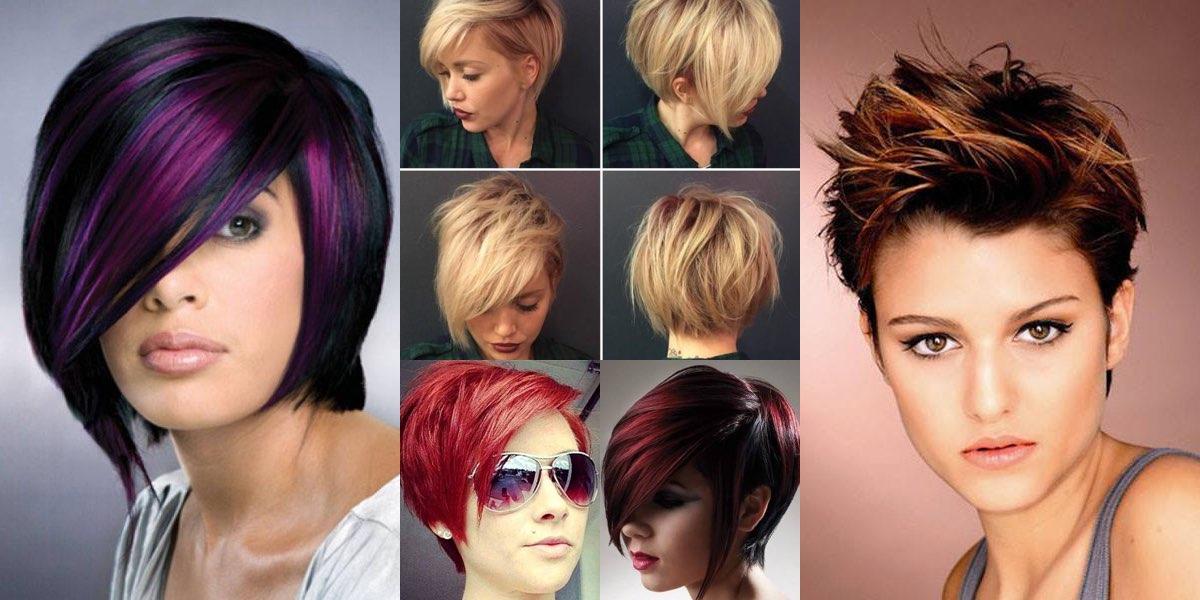 Colore di capelli corti