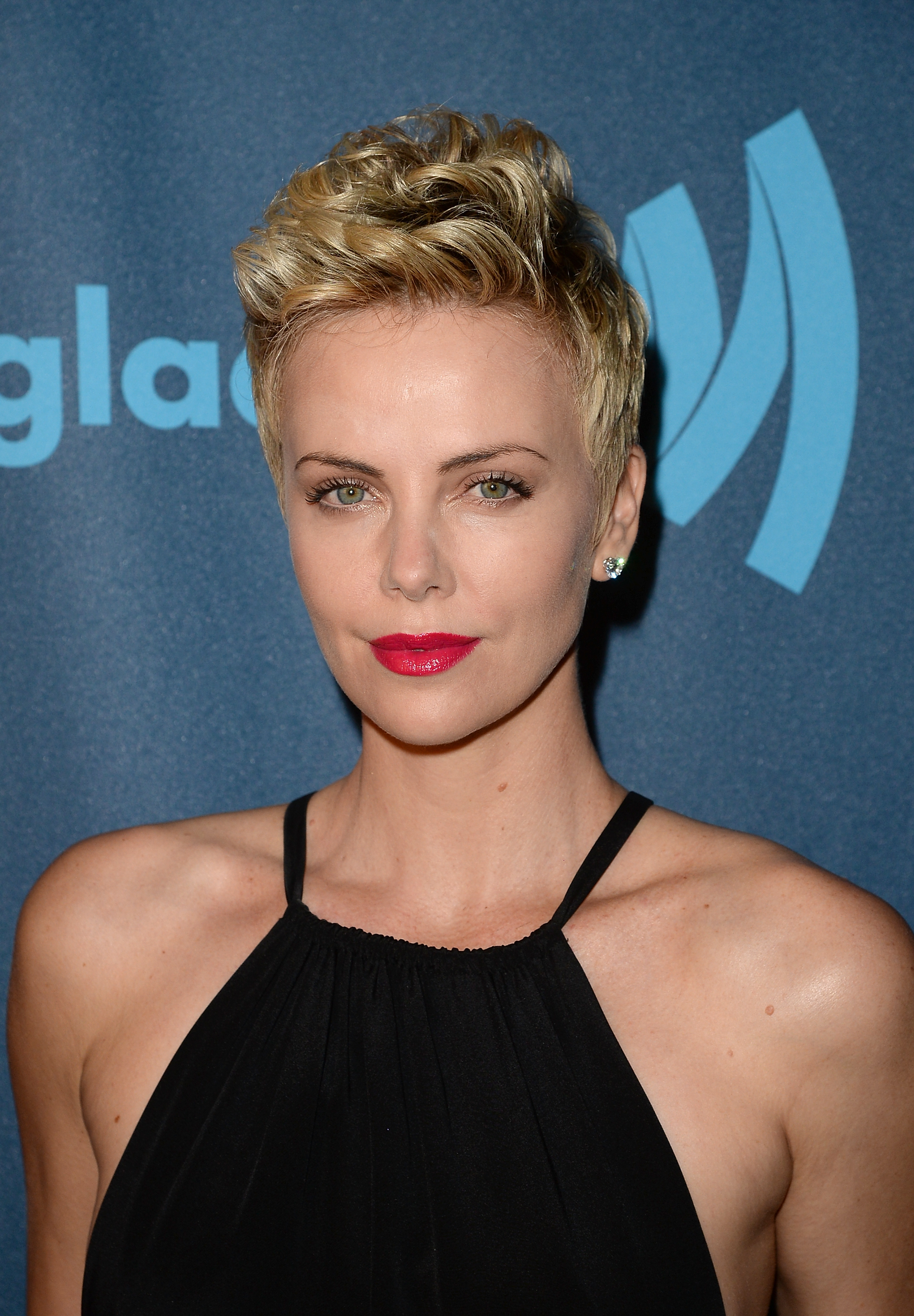 LOS ANGELES, CA - APRIL 20: Actress Charlize Theron attends the 24th Annual GLAAD Media Awards presented by Ketel One and Wells Fargo at JW Marriott Los Angeles at L.A. LIVE on April 20, 2013 in Los Angeles, California. (Photo by Jason Merritt/Getty Images for GLAAD)