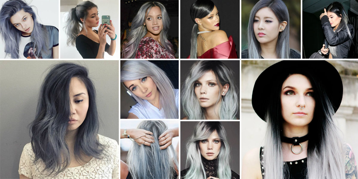 grey ombre hair