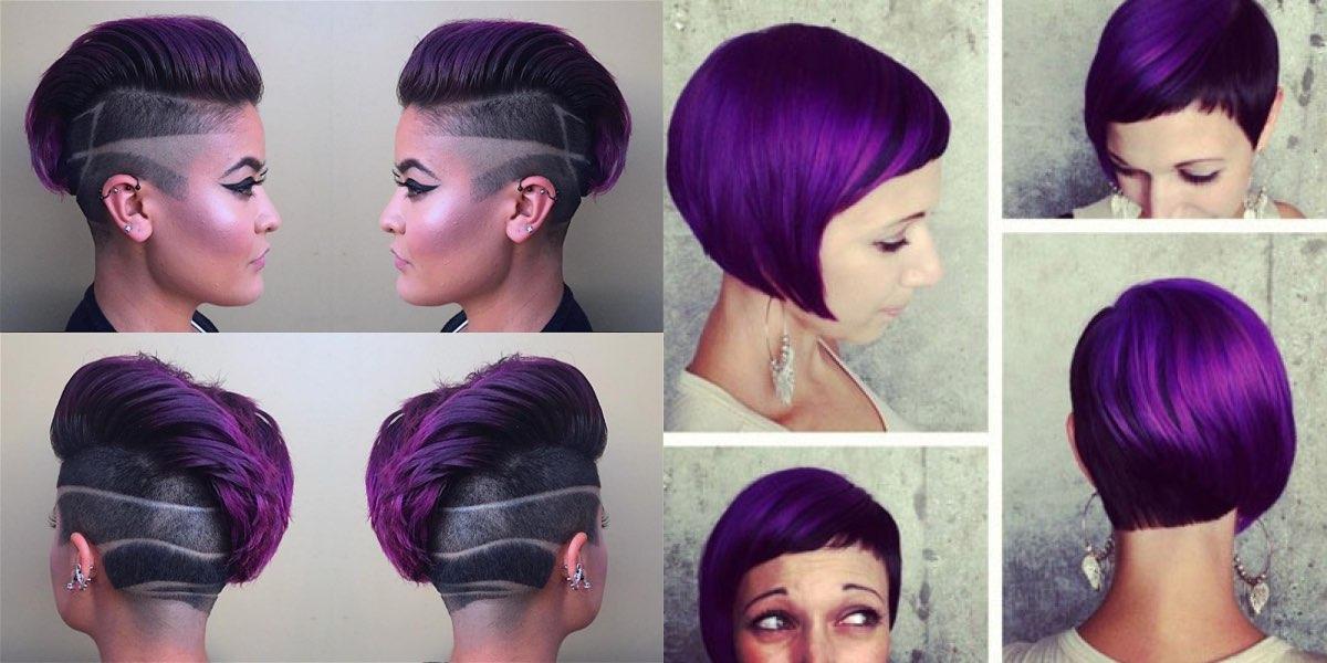 Popolare Sfumature per capelli viola: tanti meravigliosi esempi IG91