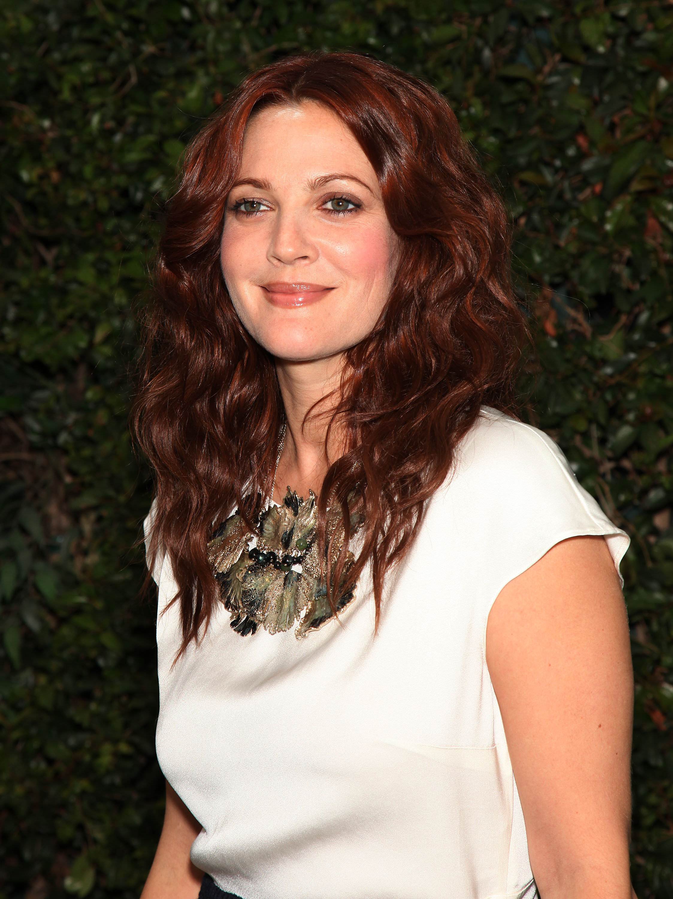 June 4, 2011 - Malibu, California, U.S. - DREW BARRYMORE arrives for the Chanel Celebration for our Oceans at a private home in Malibu, CA. (Credit Image: Lisa O'Connor/ZUMAPRESS.com)